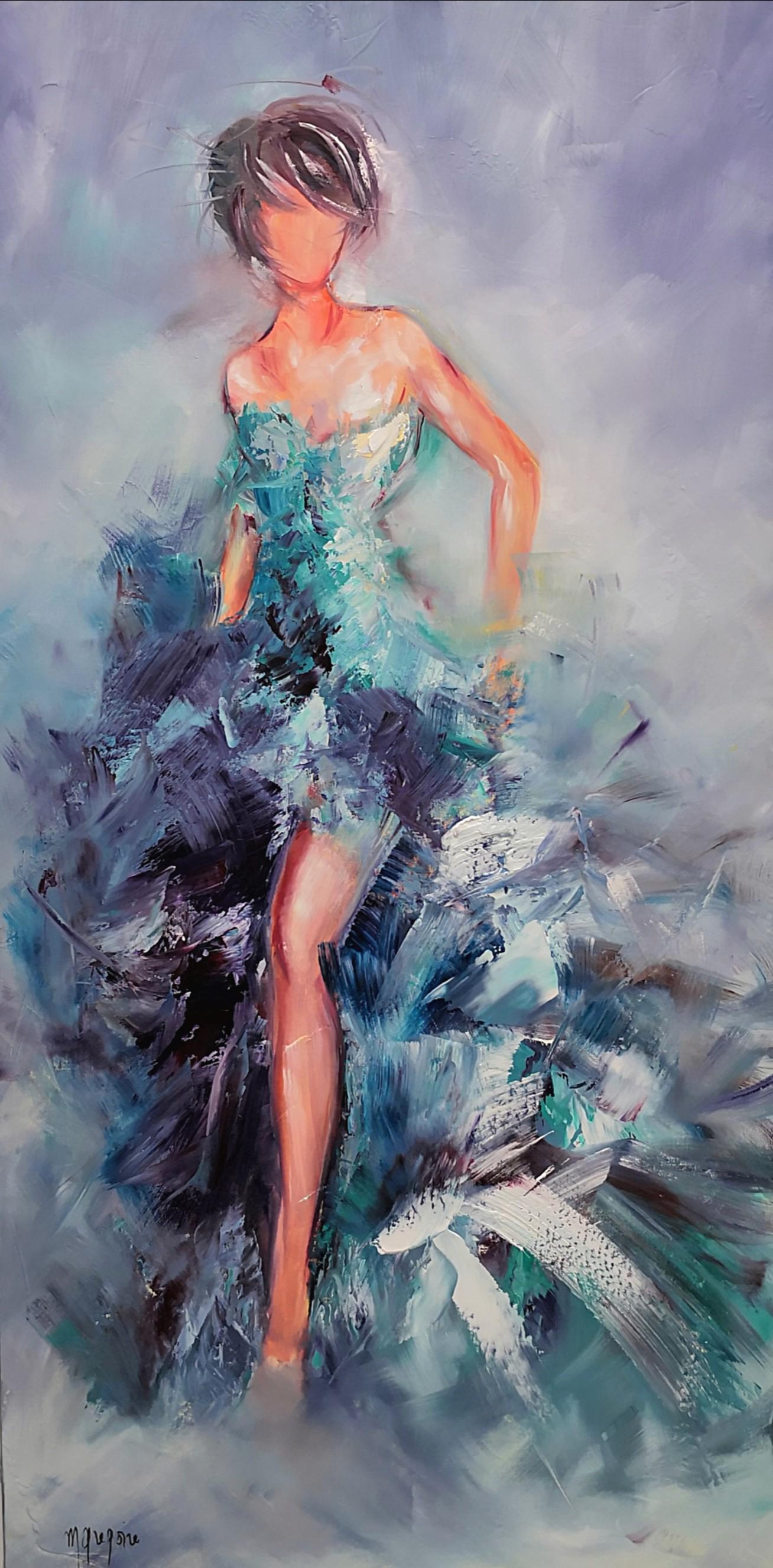 Martine Gregoire - Froufrous bleus