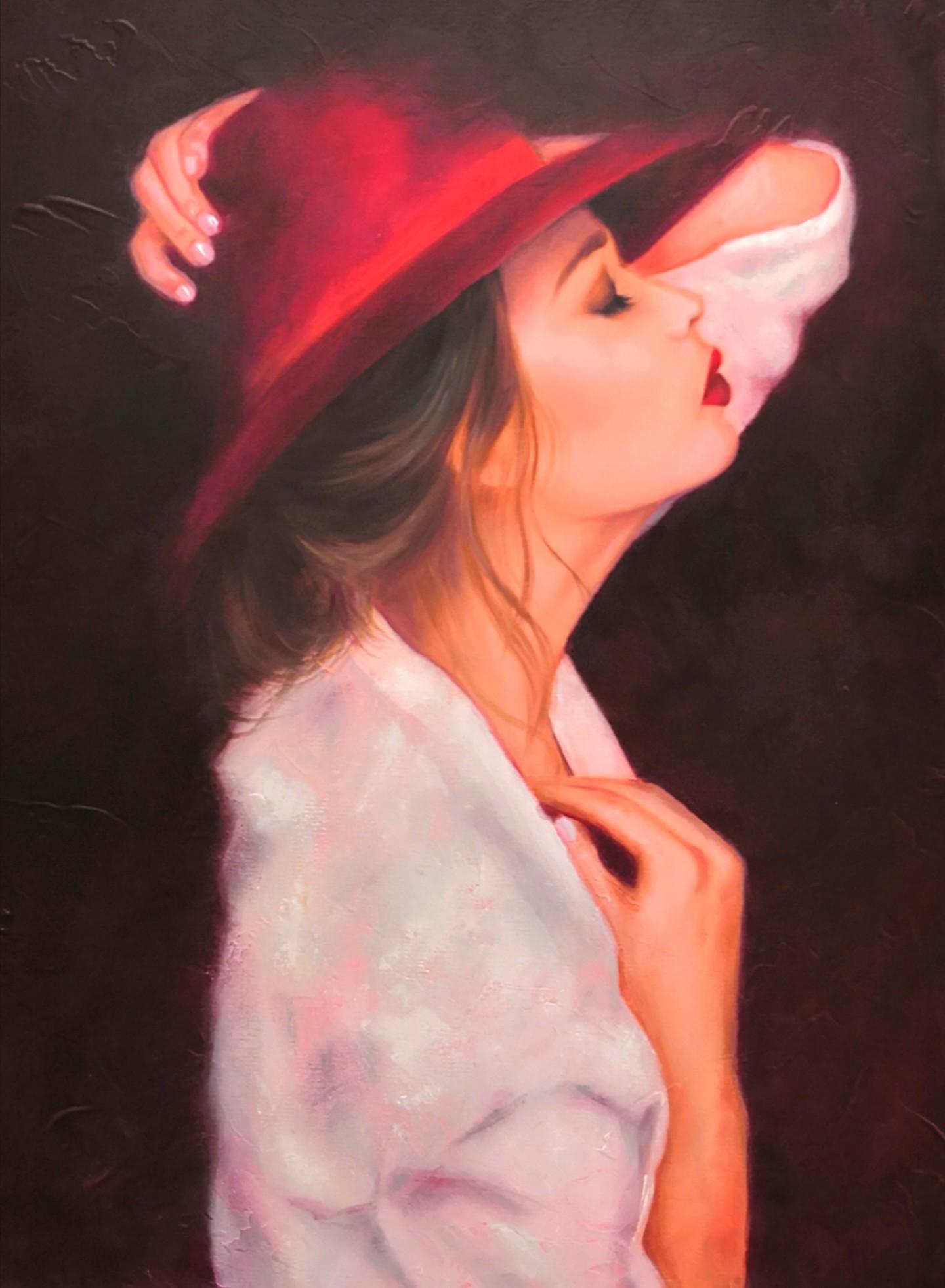 Martine Gregoire - Le chapeau rouge