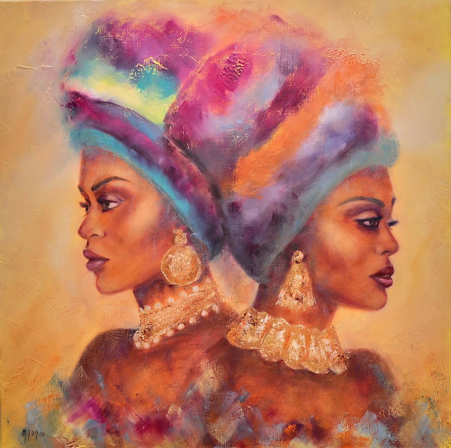 Martine Gregoire - Couleurs africaines